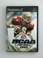 NCAA Football 2002 - Playstation 2 PS2 Game - Complete & Tested