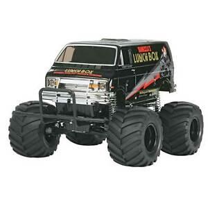 Tamiya America Inc 1/12 Lunch Box Monster Truck Kit Black Edition
