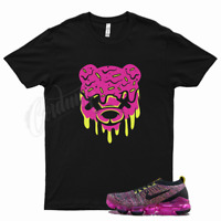 Black DRIPPY T Shirt for Nike Air VaporMax Flyknit 3 Pink Blast Turquoise Volt