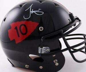 Tyreek Hill Signed Full-Size Authentic On-Field Helmet(BAS COA)Kansas City Chief