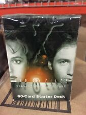 The X Files Premiere Edititon 60-Card Starter Deck For Card Game TCG CCG