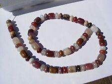 New listing 41.5 gram Henry Mountain Petrified Wood Beads 10x8mm + 8x5mm - 16 inch strand