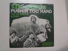 "SEEDS:Pushin' Too Hard 2:30-Try To Understand-Germany 7"" 1966 GNP Crescendo PSL"