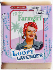 FILTHY FARMGIRL SOAP ~ LOOPY LAVENDER ~ HANDMADE IN HAWAII