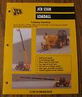 JCB 5508 Loadall Spec Sheet Brochure Literature
