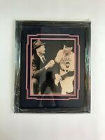 Bob Feller Cleveland Indians Autographed Picture Custom Framed & Inscribed
