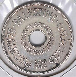 1935 Palestine 20 Mils Nice Almost UNC 333I