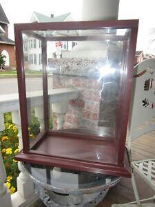 "Vintage Glass Display Case 15.5"" x 11 3/4"" x 7"""