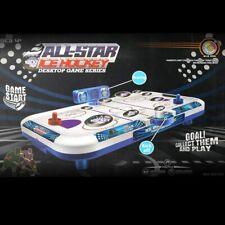Lonabr Kids Teens Air Powered Hocky Table Set Arcade Electronic Scorer Game Gift