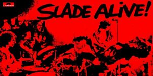 "Reproduction Alternate ""Slade - Slade Alive"" Poster, Size: 12"" x 24"""