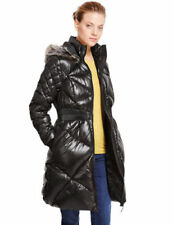 Marks and Spencer Hood Quilted Coats & Jackets for Women