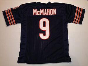 UNSIGNED CUSTOM Sewn Stitched Jim McMahon Blue Jersey - M, L, XL, 2XL