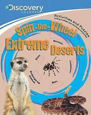 Discovery: Spin-the-Wheel Extreme Deserts (Discovery Brown Paper & Wheel), New,