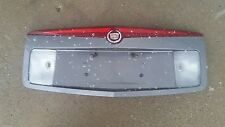 03-07 Cadillac CTS Back up License Plate Garnish Trim Panel 3rd Light GREY OEM