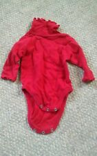 000 Baby Gap XS 0-3 Months Red Girls One Piece Outfit
