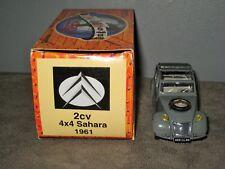 NOREV CITROEN 2CV - 2 Chevaux 4X4 SAHARA 1961 au 1/43