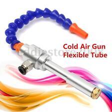 13CM Vortex Tube Cold & Hot Air Gun Dry Cooling Air Flow Machine + Flexible Tube