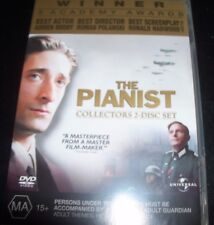 The Pianist (2 Disc Collectors Edition) (Australia Region 4) 2 DVD – Like New