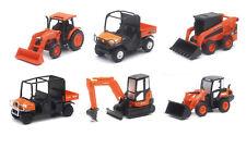 KUBOTA KX040-4 Excavator M5-111 R630 RTV-1140CPX RTV-X1120D SSV65 Pull Back toy