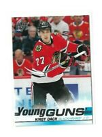2019-20 UPPER DECK #451 KIRBY DACH YG RC UD YOUNG GUNS ROOKIE BLACKHAWKS