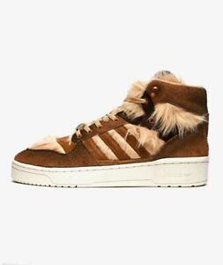 NIB Adidas Rivalry Hi Star x Star Wars Chewbacca sneakers FX9290 Limited Edition