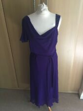 lovely BHS Purple occasion style dress size 14