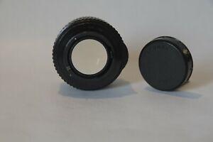 Optique Pentax à vis Takumar 1,4 /50 mm + Doubleur de focale Soligor à vis