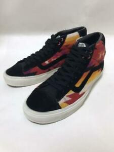 PENDLETON VANS High Cut Sneakers Shoes MIDSKOOL Tony ALVA Model Black Men US11