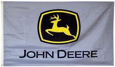 John Deere Flag Tractors Gray 3x5FT banner Free shipping