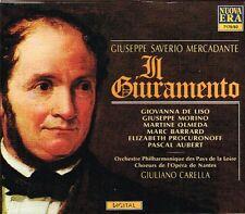 Mercadante: Il Giuramento / Carella, Morino, De Liso, Olmede, Barrard - CD