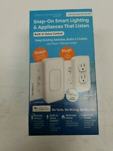 Simply Smart Home snap on smart lighting switch and outlets