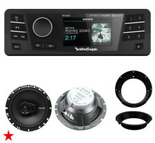 ROCKFORD FOSGATE PMX-HD9813 PLUG & PLAY RADIO FOR 98-2013 HARLEY DAVIDSON R165X3