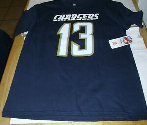NFL LA CHARGERS #13 ALLEN T-Shirt Tee Boy's Size 14-16 Youth Large W/ Tag