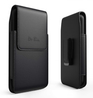 iPhone 6 Plus 6s 7 8 Vertical Leather Belt Case Clip Holster Pouch Carrying Fits