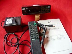 Analoger Sat Receiver SEG SR-888 mit 12V für Amateurfunkfernsehen (ATV)