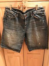 Ann Taylor Loft Denim Shorts Size 12 New