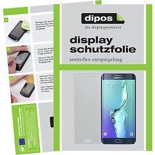 6x Samsung Galaxy S6 Edge+ / Plus Displayschutzfolie matt Vorne und Hinten dipos