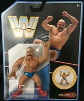 WWE WWF Mattel Iron Sheik Retro Figure Series 8 Action Figure