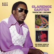 CLARENCE CARTER Testifyin' & Patches NEW & SEALED SOUTHERN / 60s SOUL CD (KENT)