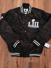 Vintage starter Super Bowl LII (52) satin Jacket Size Large