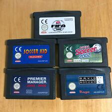 Nintendo Gameboy Games - Fifa 2004, Soccer Kid, David Beckham, Premier Manager