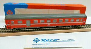 Roco 4223B 44275 H0 half Luggage Car Express Train Wagon Eurofima SNCF Boxed