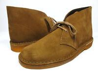 Clarks Originals Mens ** DESERT BOOTS ** COLA SUEDE ** UK 8,9,10,13 F