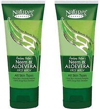 Original Nature's Essence Neem Aloe Vera Face Wash 50ml free shipping