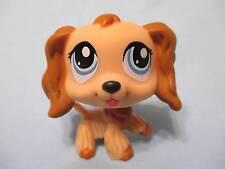 Littlest Pet Shop #1318 Brown Cocker Spaniel Puppy Dog 100% Authentic minor wear