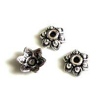 20 Caps calottes coupelles _ FLEUR 9x3,5mm _ Perles apprêts création bijoux A335