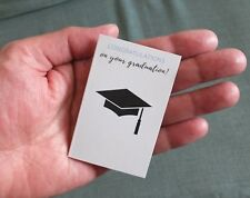 CONGRATULATIONS ON YOUR GRADUATION CARD with LUCKY SIXPENCE GIFT