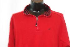 NAUTICA Semi-Zip Fleece - Red - XL