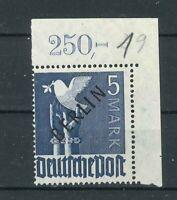 Luxus Berlin Michel-Nr. 20 Ecke 2 - P OR - ndgz. - postfrisch ** - Mi. 400,-
