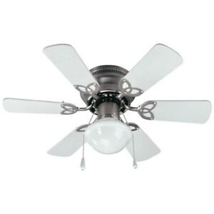 "Canarm Twister 30"" Ceiling Fan, Brushed Pewter - CF3230651S"